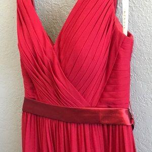 Azazie Burgundy Dress